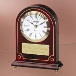 Wood with Detailed Gold Painting Mantle Clocks
