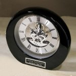 Silver Accents Mantle Clocks