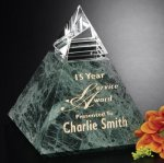 Vernita Peak Marble Glass Awards