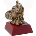 Elephant Resin Mascot Resin Trophy Awards