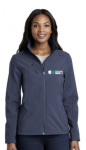 L324 - Port Authority Ladies Welded Soft Shell Jacke MedCenter Air