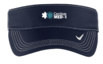 429466 - Nike Dri-FIT Swoosh Visor - Navy MedCenter Air