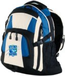 BG77 - Urban Backpack - Royal/Black/Stone Mountain Island Charter School Apparel