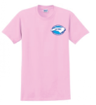 G200 - Light Pink T-Shirt NC Society for Respiratory Care