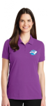 LK8000 - EZCotton Polo - Bright Violet NC Society for Respiratory Care