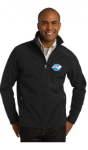 J317 - Soft Shell Jacket - Black NC Society for Respiratory Care