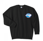 G180 - Black Crewneck, Long Sleeve North Carolina Society for Respiratory Care