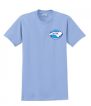 G200 - Light Blue T-Shirt North Carolina Society for Respiratory Care