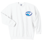 G180 - White Crewneck, Long Sleeve North Carolina Society for Respiratory Care