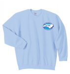 G180 - Light Blue Crewneck, Long Sleeve North Carolina Society for Respiratory Care