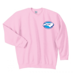 G180 - Light Pink Crewneck, Long Sleeve North Carolina Society for Respiratory Care