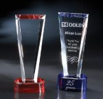 Eva Red Optical Crystal Awards