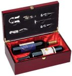 Rosewood Double Bottle Box Secretary Gift Awards