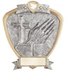 Signature Series Religion Shield Award Signature Shield Resin Trophy Awards