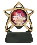 Star Resin Mylar Holder Star Awards