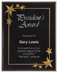 Black Star Acrylic Award Recognition Plaque Star Plaques