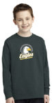 PC54YLS - Port & Company Youth Long Sleeve Core Cotton Tee Winding Springs Elementary