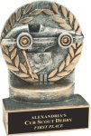Racing - Wreath Resin Trophy Wreath Resin Trophy Awards